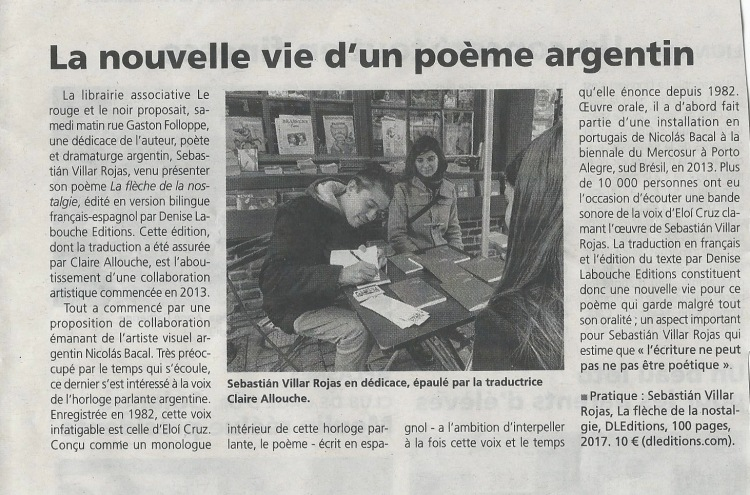 L'Eveil Normand, mars 2017.